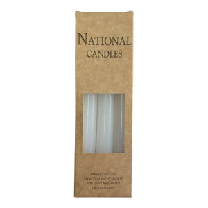 National Candles White 6pcs