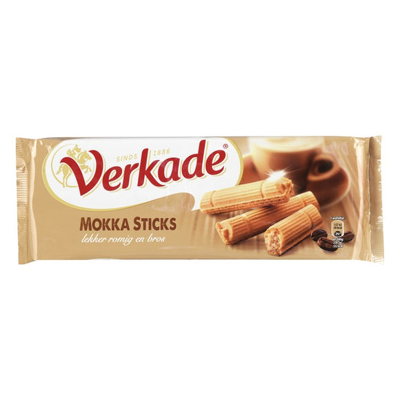 Verkade Mokka Sticks 150gr