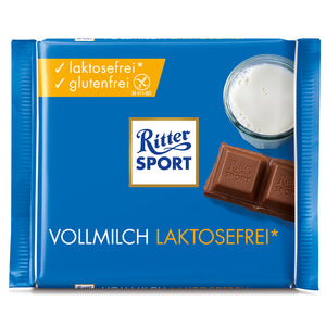 Ritter Sport Lactose Free Milk Chocolate 100gr