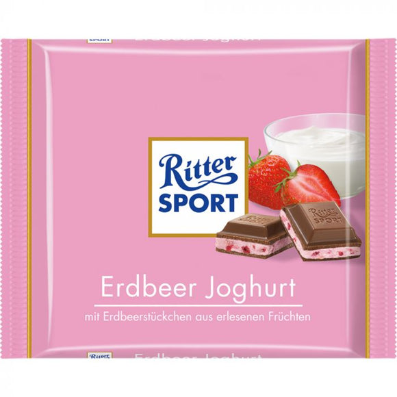 Ritter Sport Strawberry Yogurt 100gr