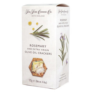 Fine Cheese Crackers Rosemary & Olive Oil 125gr