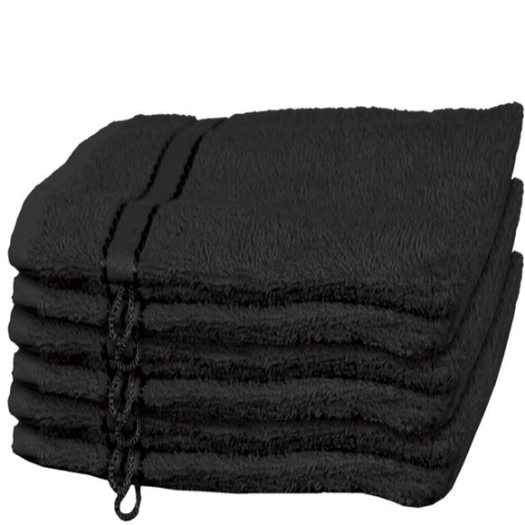 Hand Washcloth Black
