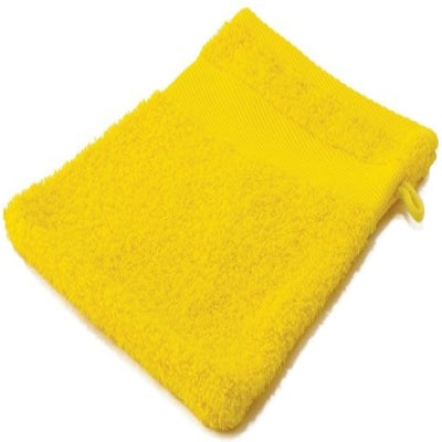 Hand Washcloth Yellow