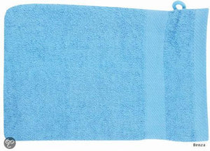 Hand Washcloth Light Blue