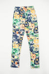 Kids Lights, Camera, Action! Leggings - S/M