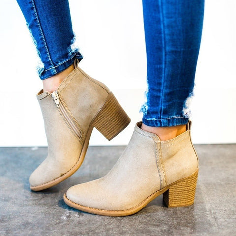 Jenna Ankle Booties