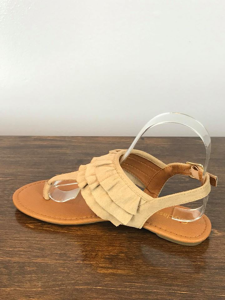 Lola Sandal - Wheat