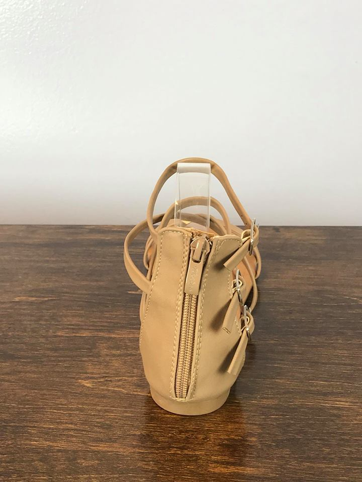 Malina Strappy Sandal - Taupe