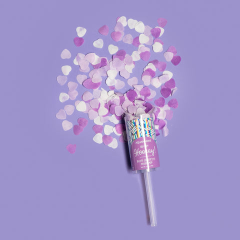 Aquamarine by Cait + Co - b. Hip Hip! Hooray! Bath Confetti Push Pop