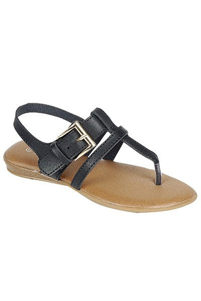 Charlotte Girls Sandals - Black