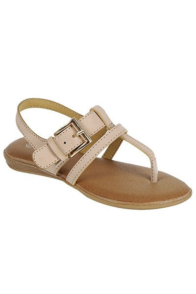 Charlotte Girls Sandals - Taupe