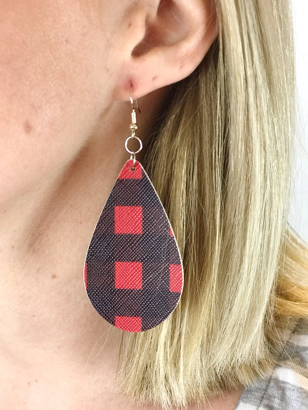 Buffalo Plaid Earrings