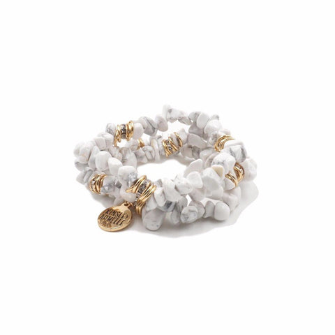 KINSLEY ARMELLE - CLUSTER COLLECTION - PEPPER BRACELET
