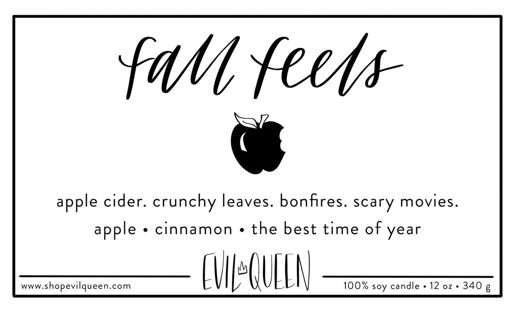 Evil Queen - Fall Feels 12oz Candle