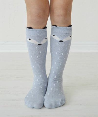 Girls Fox Socks