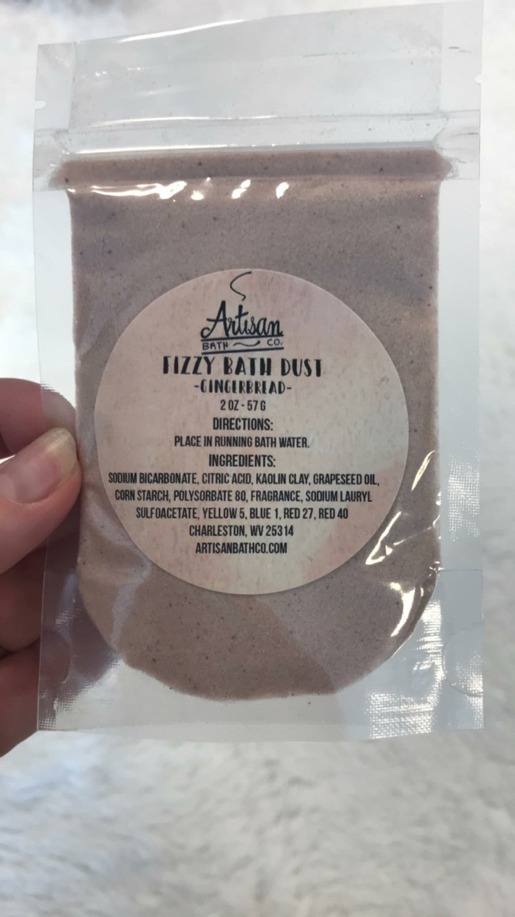 Fizzy Bath Dust - Assorted Scents