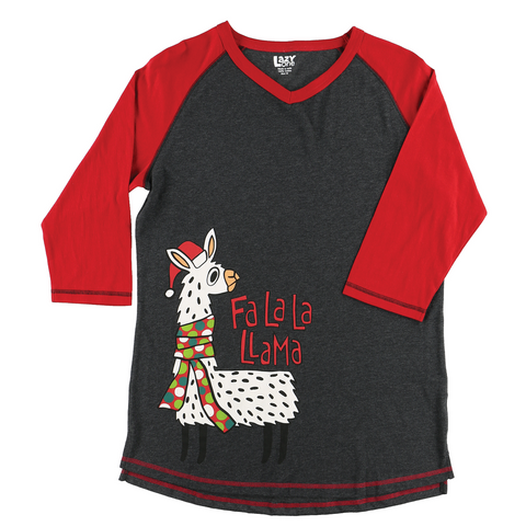 Lazy One - Llama Women's Tall PJ Tee