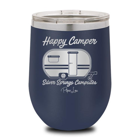 PIPER LOU INSULATED WINE CUP - HAPPY CAMPER