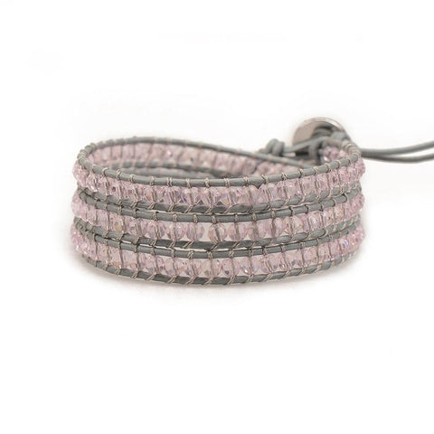 VICTORIA EMERSON - PINK TOURMALINE ON GREY