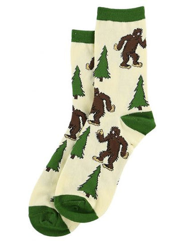 Lazy One - I Believe... Bigfoot Crew Sock