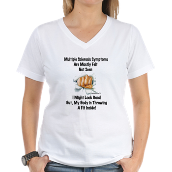 Multiple Sclerosis Symptoms are Mostly Felt Not Seen (T-Shirt)