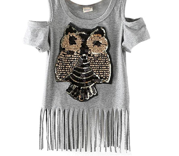Owl Kids T shirt - MSstation & Book Club Store