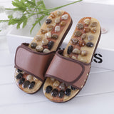 Multi-Color Pebble Stone Foot Massage Slippers - MSstation & Book Club Store