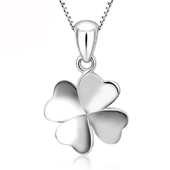Women's Four-Leaf Clover Of Design Of Necklace - MSstation & Book Club Store