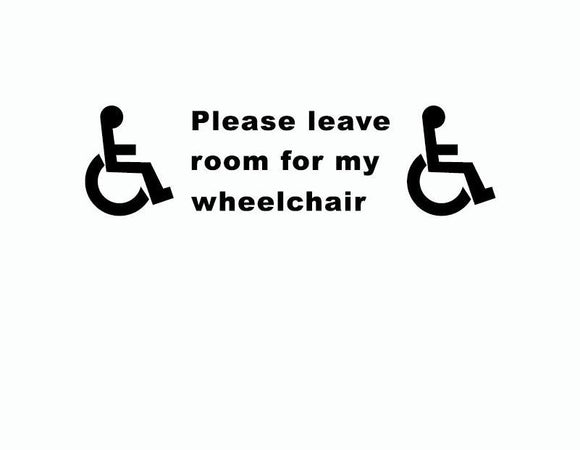 Disability Mobility Sign - MSstation & Book Club Store