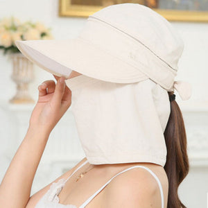 Women's Foldable Wide Brim Sun Hat - MSstation & Book Club Store