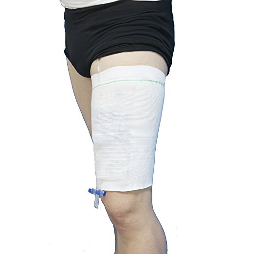 Comfort Sleeve Urine Catheter Bag Leg Holder - MSstation & Book Club Store
