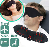 3D Portable Soft Travel Rest Aid Eye Mask - MSstation & Book Club Store