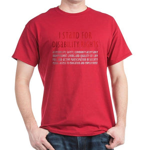 Disability Rights - 100% Cotton T-Shirt - MSstation & Book Club Store
