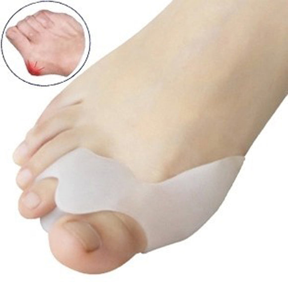 Silicone Gel Toe Separator, Protector & Bunion Adjuster - MSstation & Book Club Store