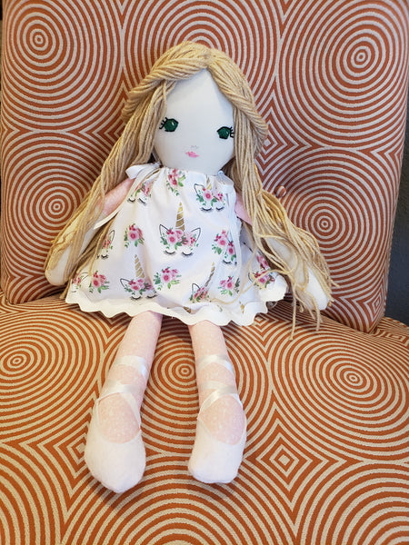 Handmade Doll - 318 Art and Garden
