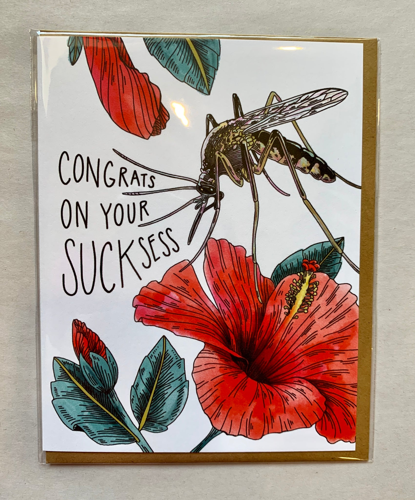 Congrats on Your Sucksess Card - 318 Art and Garden