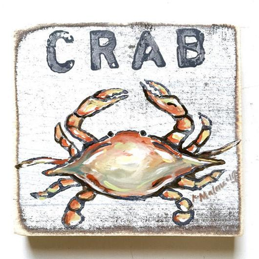 Crab Sign - 318 Art and Garden