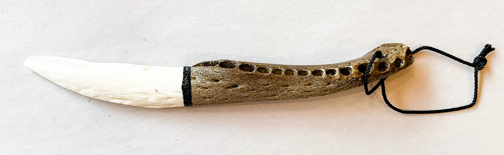 Alligator Jawbone Knife - 318 Art and Garden