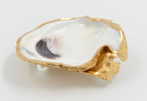 Hand Painted Oyster Shell