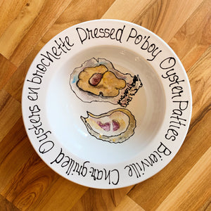 Small Oyster with Sayings Bowl - 318 Art and Garden