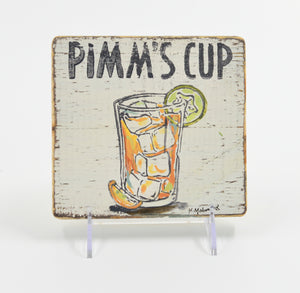 Pimm's Cup Sign - 318 Art and Garden