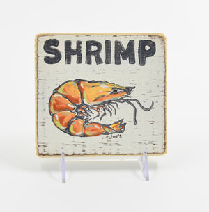 Shrimp Sign