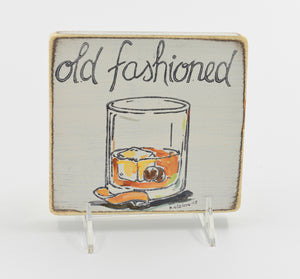 Old Fashioned Sign