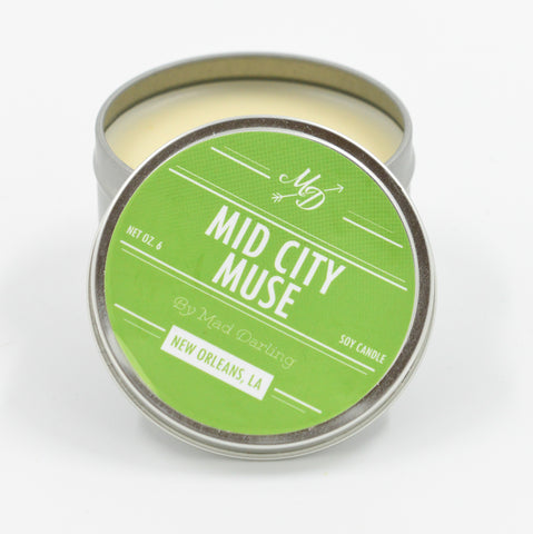 Mid-City Muse Candle Tin - 318 Art and Garden