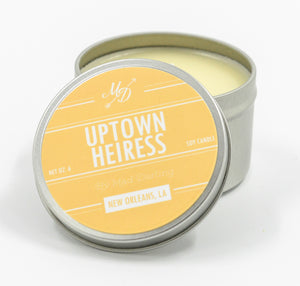 Uptown Heiress Candle Tin - 318 Art and Garden