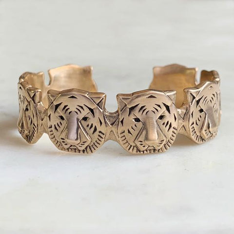 Tiger Cuff Bracelet - 318 Art and Garden