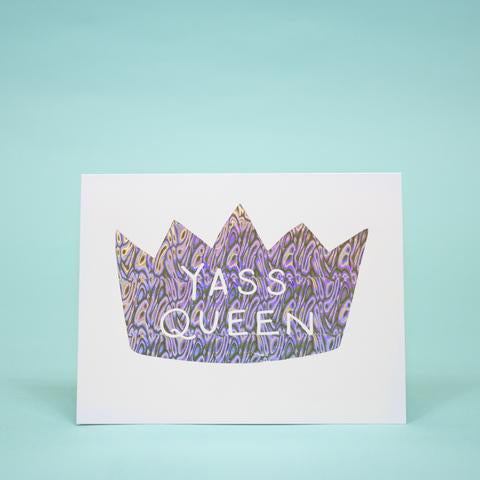 Yass Queen Greeting Card - 318 Art and Garden