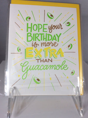 """Guacamole Birthday"""