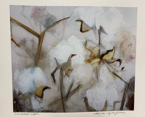 """LA Cotton Neutral"" Print - 318 Art and Garden"