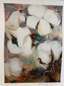 """LA Cotton with Texture"" Print - 318 Art and Garden"